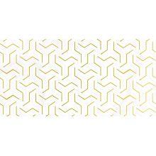 Декор Crystal Fractal белый 30х60