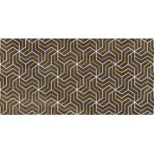 Декор Crystal Fractal коричневый 30х60