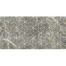 Декор Crystal Fractal серый 30х60