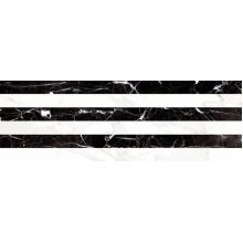 Плитка RELIEVE STRIPE CARRARA Albinegro Brillo 20x60