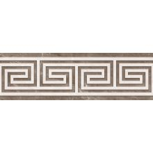Плитка Luxury Decor Greca Brown 25x80