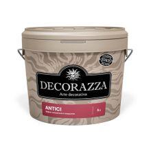Декоративное покрытие DECORAZZA Antici 1л Белый