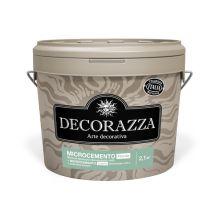 Декоративное покрытие Decorazza Microcemento Fronte эффект бетона мелкая фракция 10,8 кг