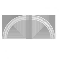 Европласт арочное обрамление 4.87.033 гибкий