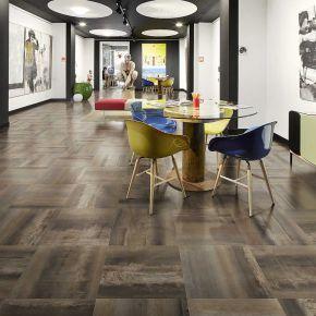 Коллекция Ascot Ceramiche Steelwalk в интерьере