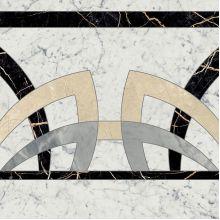 Декор Шарм Экстра Каррара Розон Фашиа 59х59 люкс (620120000066)