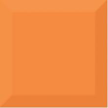 Biselado Brillo Naranja