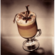 Composicion Coffee Capuccino Marron