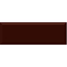 Monocolor Biselado Brillo Marron