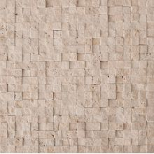 Mos.Turkish Travertine Split 1.5x1.5 30.5x30.5 CV20145