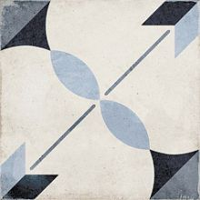 Плитка керамическая напольная 24411 ART NOUVEAU Arcade Blue 20х20 см