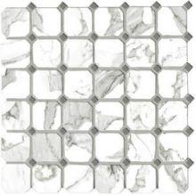 Мозаика керамическая G20404 CALACATTA VI.OTTAGONA (5х5) 30х30 см