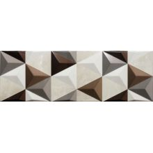 Valentina Brown Geometric 20x60