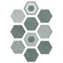 PIER17 Hexa Turquoise