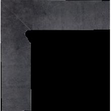 Bazalto Grafit Цоколь левый 2-х элем 30x8,1x1,1
