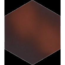 Cloud Brown Heksagon Плитка напольная гладкая 26х26х1,1