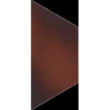 Cloud Brown Trapez Плитка напольная гладкая 12,6х29,6х1,1