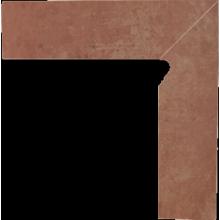 Cotto Naturale Цоколь правый 2-х элем 30x8,1x1,1