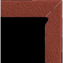 Natural Rosa Duro Цоколь правый структурный 2-х элем 30х8,1