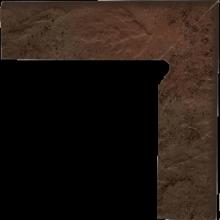 Semir Brown Цоколь правый структурный 2-х элем 30х8,1