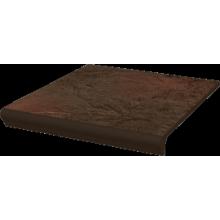Semir Brown Ступень простая с капиносом структурная 30х33