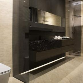 Коллекция Porcelanosa  Travertino Medici в интерьере