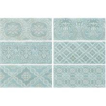 Maiolica Aqua Deco плитка настенная 11x25