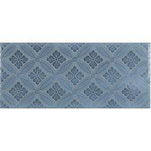 Maiolica Blue Steel Deco плитка настенная 11x25
