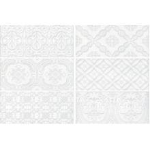 Maiolica White Deco плитка настенная 11x25