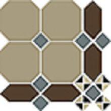 Гранит керамический PARIS Stand.(Oct.01, Dot 11, Loz.29, Tr.1/4 14+16) 24,7х24,7 см