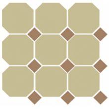 Гранит керамический 4403 OCT04-1Ch Yellow OCTAGON 03/Caramel Dots 04 30x30 см