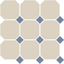 Гранит керамический 4416 OCT11-1Ch White OCTAGON 16/Blue Cobait Dots 11 30x30 см