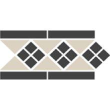 Бордюр керамический Border LISBON-1 with 1 strip Stand.(Tr.16, Dots 14, Strips 14) 28х15 см