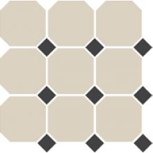 Гранит керамический 4416 OCT14-1Ch White OCTAGON 16/Black Dots 14 30x30 см