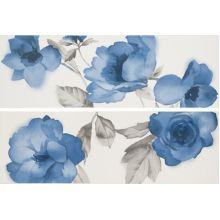 Декор Colourline White/Blue Decoro MLER 22*66.2