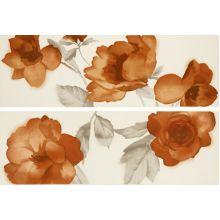 Декор Colourline Ivory/Orange Decoro MLES 22*66.2