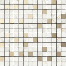Мозаика R4ZU Bistrot Mosaico Calacatta Michelangelo  40*40