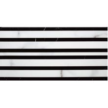 Бордюр угловой K1772ML070010 New Tradition черно-белый 15*30