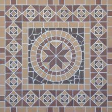 Square/Квадрат мозаика клинкерная (на сетке) Ecoclinker 100х100