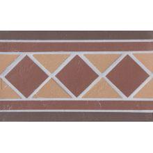 Подступенник мозаичный из клинкера (на сетке) Square/Квадрат  Ecoclinker 25х15
