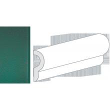 Бордюр керамический настенный 25049 CRACKLE LONDON Esmarald Green 5x15 см