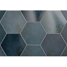 Плитка керамическая напольная 24951 HERITAGE HEXAGONO Indigo 17,5х20 см