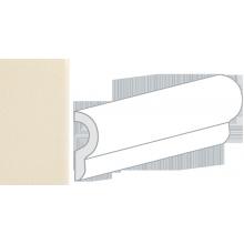 Бордюр керамический настенный 25045 CRACKLE LONDON Bone 5x15 см