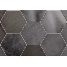 Плитка керамическая напольная 24954 HERITAGE HEXAGONO Carbon 17,5х20 см