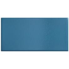 Плитка керамическая настенная 25035 CRACKLE Ocean Blue 7,5x15 см