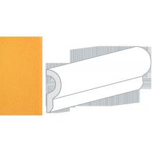 Бордюр керамический настенный 25050 CRACKLE LONDON Mustard 5x15 см