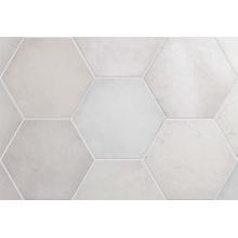 Плитка керамическая напольная 24950 HERITAGE HEXAGONO Snow 17,5х20 см