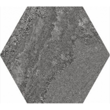 Керамогранит Soft Hexagon Anthracite 23*26