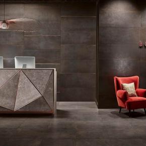 Коллекция Love Ceramic Tiles Metallic в интерьере