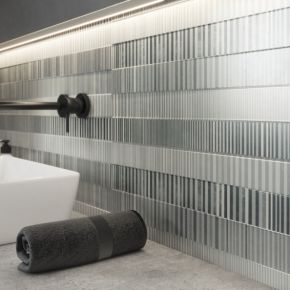 Коллекция Meissen Concrete Stripes в интерьере